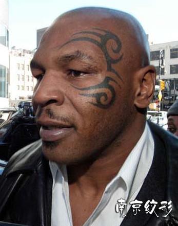 拳王泰森脸上纹身:毛利人的武士精神!